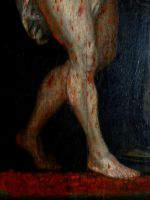 Oil on panel 17th century