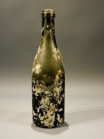 19th century glass bottle